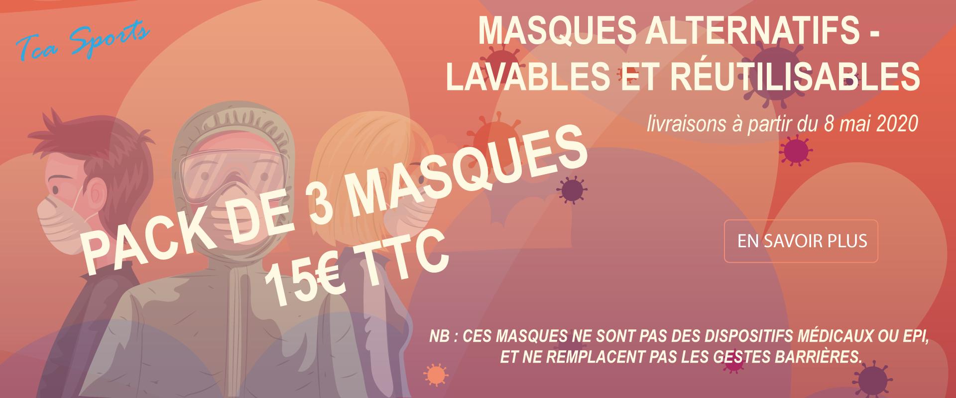 Masques TCA Sports